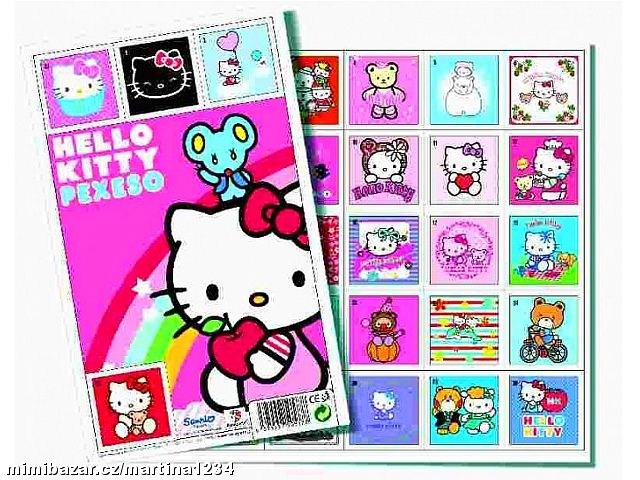 Pexeso Hello Kitty
