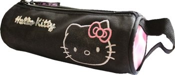Penál tuba Hello Kitty black collection